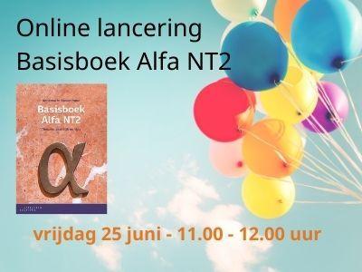 Online lancering Basisboek Alfa NT2 | Evenement